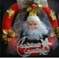 Santa Claus Floral Garlands christmas indoor decoration products 9bnn38