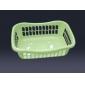 new design plastic basket for daily items, light green