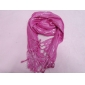 pink trendy silver thread long shawl scarf perfect for girl's gift