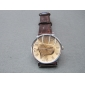 2010 Promotional newly design decorative heart pattern nobler lovers'electronic wrist watch with PU watchband