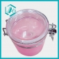 10*11cm PE And Stainless Steel Pink Seal Pot 1pc/ OPP Bag, Mixed