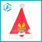 2010 newest style red cotton polyester Christmas cap&hat for Christmas day dressing