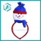 red cotton polyester Christmas headband for Christmas day dressing