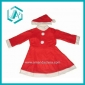 fashion red cotton polyester  Christmas suit dress for Christmas day dressing