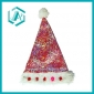 colourful cotton polyester Christmas hat&cap for Christmas days dressing