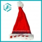 red cotton polyester Christmas hat&cap for Christmas days dressing