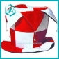 red and white  cotton polyester Christmas hat&cap for Christmas days dressing