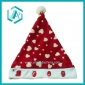 2010 newest style red cotton polyester christmas cap&hat