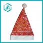 beautiful cotton polyester Christmas cap&hat for christmas dressing