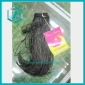 one dollar 2010 Stylish Long Silky Straight Black Cosplay Party Hair Wig