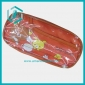 Stationery bag lovely leather pencil cases with orange cartoon animals good for children
