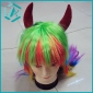 one dollar Cool special creative fashion hair wig with different colors on sale