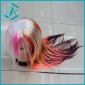 one dollar 2010 strange creative fashion hair wig with different colors on sale