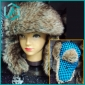 2010 newest design Leifeng Plush Beanie cap