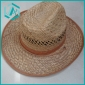 men's pure hand-made classical style cowboy straw hat