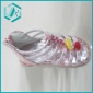 2011 newest kid's sandal for girl's style, purple color with red small flower