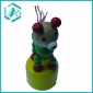 Dog style push up toys, diameter 4.5cm, many colors are available