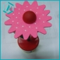 2011 newest wooden push up toys of flower style for home decoration