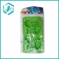 Green color with fish shape mini plastic ice cube trays, most competitive price