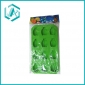 ice cube trays for home, green color with small pineapple shape