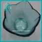 Wholesale floral trim glass candy bowl
