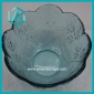 Wholesale floral trim pressed glass candy bowl (50*110mm)