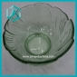 Wholesale floral trim pressed glass candy bowl (55*110mm)