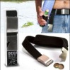 beer bottle opener woven belt