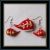 Lampwork Murano Glass Jewelry Set