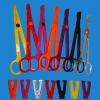 Plastic Scissor,Body Piercings, disposable tattoo piercing tools