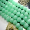 light green color crystal beads