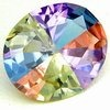 color cz gemstone