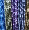 dark color dyed baroque pearl strand