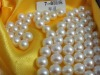 AAA white perfect round fresh water pearl