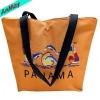 printed beautiful design plastic beach bag