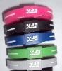 Enviromental Embossed Silicone Bracelets