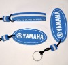(metal crafts)promotional gifts pvc keychain