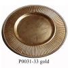 13'' round plastic plate