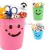 hot sell fashinable smile plastic receive cup,storage cup