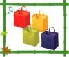 green shopping bag D070