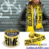 acrylic knitted advertising scarf
