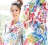 fashion scarf/flower scarf/viscose scarf/print scarf