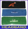 cotton sport headband