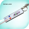 keychian led light with card laser pointer