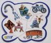 magnetic puzzle ( jigsaw puzzle)