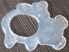 silicone teethers / baby silicone teethers / silicone baby teether / transparent silicone teether)