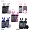 2011 new arrival rabbit design silicone case for iphone4g case
