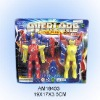 Plastic robot toy
