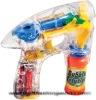 flashing toy, flashing bubble gun