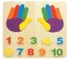 Finger-Number Puzzle